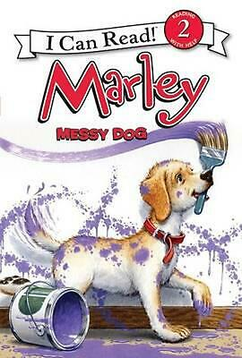 Marley: Messy Dog by John Grogan (English) Hardcover Book Free Shipping!
