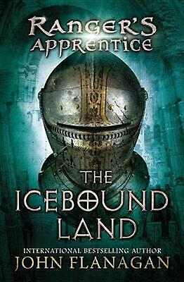 The Icebound Land by John Flanagan (English) Hardcover Book Free Shipping!