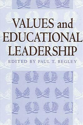 NEW Values and Educational Leadership by Paperback Book (English) Free Shipping