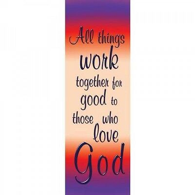 Banner - ALL THINGS WORK TOGETHER FOR GOOD TO THOSE WHO LOVE GOD (Indoor) 2' x 6