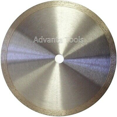 "8"" Standard Wet Dry Cutting Continuous Rim Tile Diamond Saw Blade"