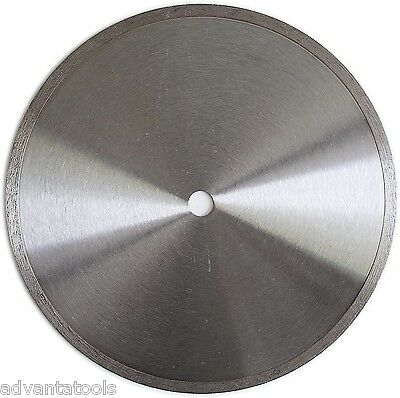 "10"" Standard Wet Dry Cutting Continuous Rim Tile Diamond Saw Blade"