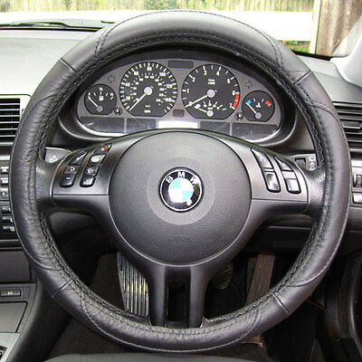 LEATHER Steering Wheel Cover BMW 3 Series E36 E46 E90