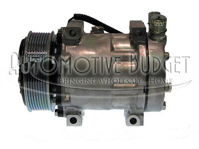 A/C Compressor w/Clutch for Sanden 4321, 4822 - NEW