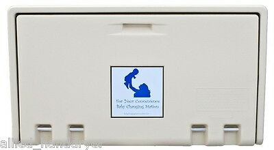 Baby Changing Station (Private Label/Allied Hand Dryer) CREAM Horiz AHD100-00
