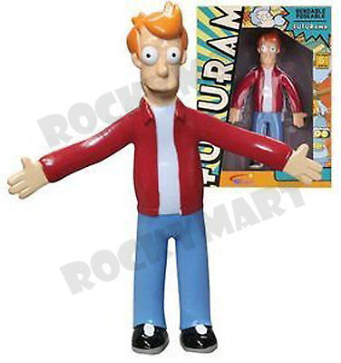 Futurama TV Show FRY Character Bendable Figure Toy RM1834