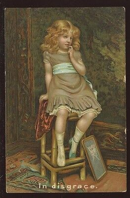 CHILD In Disgrace artist drawn early PPC