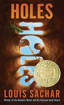 Holes by Louis Sachar (English) Mass Market Paperback Book Free Shipping!