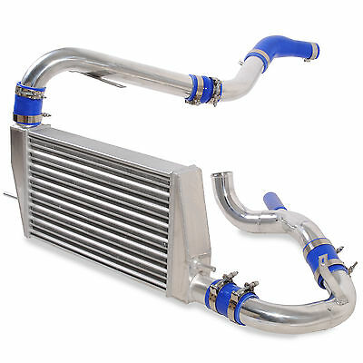 Delta Fin Alloy Front Mount Intercooler Fmic Kit For Mitsubishi Lancer Evo 10 X