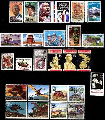 1989 US Commemorative Stamp Year Set Mint