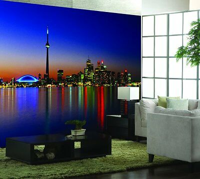 Toronto at Night-Wall Mural-12'wide by 8'high-New