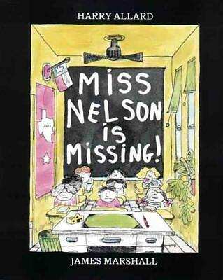 Miss Nelson Is Missing! by Harry Allard (English) Hardcover Book Free Shipping!