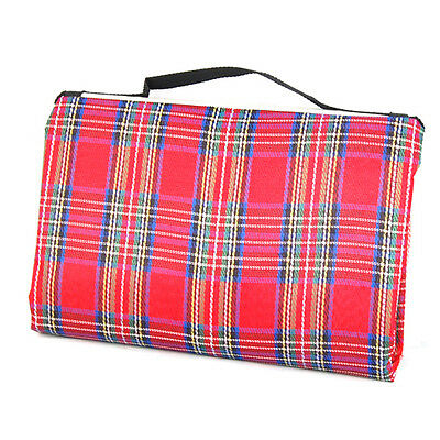Extra Large Waterproof Picnic Blanket Rug Travel Pet/Dog Caravan Camping Fleece