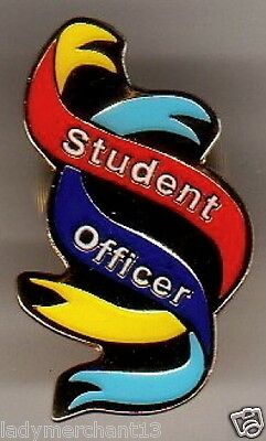 """Student Officer"" Ribbon Enamel Lapel Pins/Lot of 25/ALL NEW LINE!"