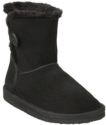 f1e320b86f0 Easy Spirit Abisailoh ankle boot black suede leather sz 6 Med NEW