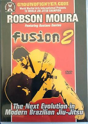 Robson Moura Fusion Vol 2 Brazilian Jiu Jitsu Instructional Dvd Set Mma Bjj