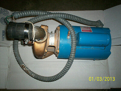 Used Emerson Pool Spa Pump T55cxcat 1180 Two Speed Pool