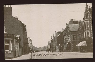 Scotland East Lothian DUNBAR High St  looking North 1927 PPC