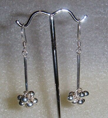 Sterling Silver Dangling Earrings -  Lb1778