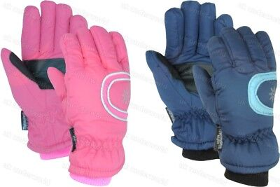 Ladies Girls Thermal Thinsulate Ski Gloves Childrens Skiing Adults Winter Warm