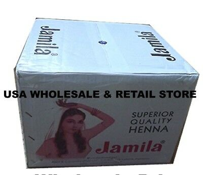 100 x Jamila Henna powder Lowest price Cheap $1ea USA Distributor Hair