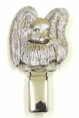 Papillon Head Show Ring Clip/Number Holder
