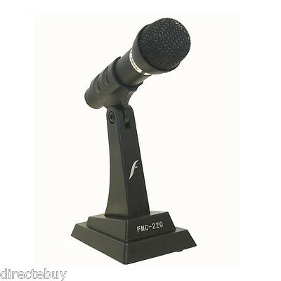 Computer Laptop Desktop PC Notebook Noise Canceling Stand Alone Microphone MIC