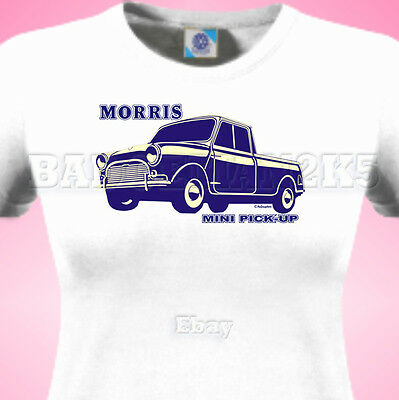 Mini PICKup Classic MORRIS PICK-UP LADIES GIRLS T Shirt Ideal for Shows