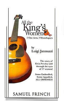 All the King's Women by Luigi Jannuzzi (English) Paperback Book Free Shipping!