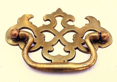"""Antique Hardware Brass Chippendale Drawer Pull Handle...  2 1/2"""" & 3"""" centers"""