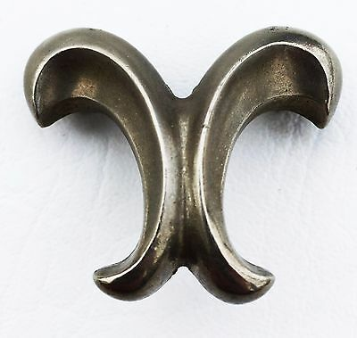 "MCM Antique hardware Vintage French Provincial drawer pull knob 1 1/4"" center"
