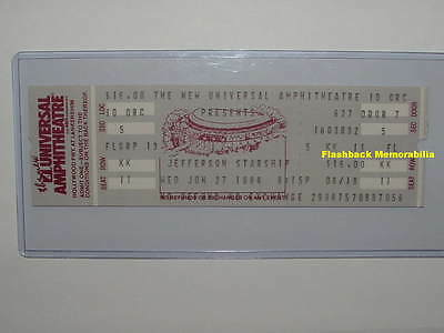 JEFFERSON STARSHIP Unused 1984 Concert Ticket UNIVERSAL L.A. Paul Kantner RARE