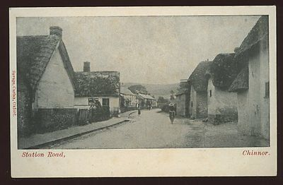 Oxon CHINNOR Station Rd early PPC pre 1919