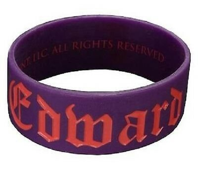 Twilight Breaking Dawn Thick Rubber Bracelet Team Edward