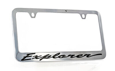 Ford Taurus Sho Chrome Plated Metal License Plate Frame Holder
