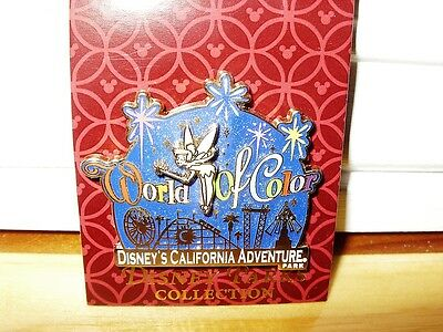 Disney DLR Pin World of Color - Tinker Bell and Logo