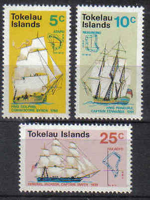 STAMPS  TOKELAU ISLANDS 1970 SHIPS    (MNH)  lot 282