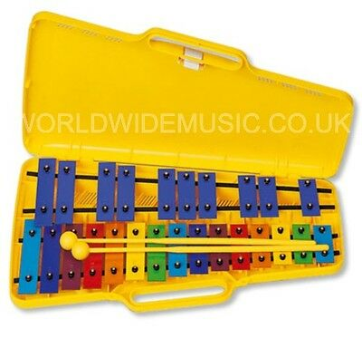 Angel AX25N3 - 25 Note 40Cm Glockenspiel With Case and 2 beaters