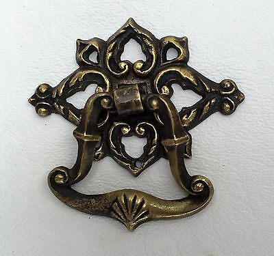 Brass Architectural Antique Hardware Drawer Pull Handle Furniture Part Victorian