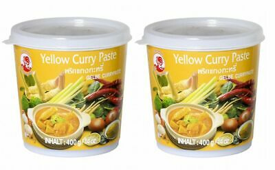 (5,73€/1kg) ANGEBOT [ 400g ] COCK Gelbe Currypaste / Yellow Curry Paste