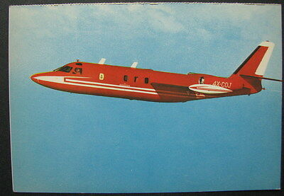 ISRAEL PLANE AIR CRAFT INDUSTRIES IAI's THE COMMODORE TWIN-JET OLD PC 70's