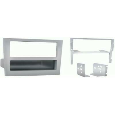 New Metra 99-3107S Silver Single DIN Stereo Dash Kit for 2008 Saturn Astra
