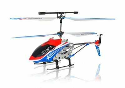 SYMA S107G Helicopter BLUE GYRO 3.5 CH Metal RC Remote Control For PARTS ONLY