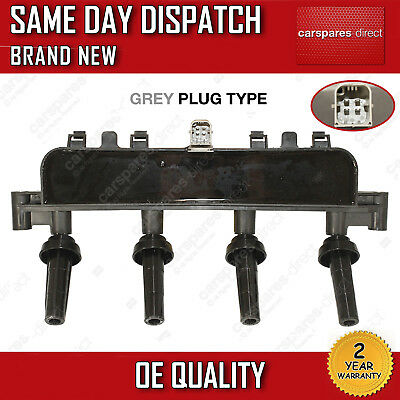 PEUGEOT 206 1.1i/1.4/1.4i/1.6 98 ON CASSETTE IGNITION COIL PACK 597074 2 YR WRTY