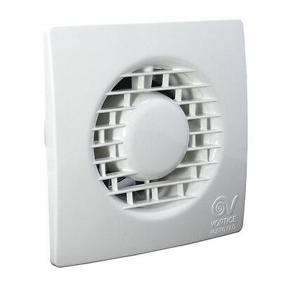 "Vortice 11127 MF100/4"" T Extractor Fan with Timer TIPO M 100 Punto Filo"
