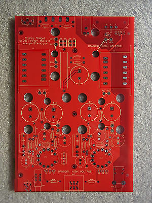 "DIY PCB - ""Mighty Midget"" tube amplifier"
