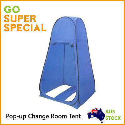 Pop Up Portable Toilet Shower Tent Camping Change Room Tent Outdoor Demo