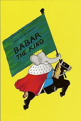 Babar the King by Jean de Brunhoff (English) Hardcover Book Free Shipping!