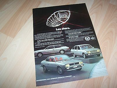 Publicité magazine / Original Advertising LANCIA Beta, Beta Coupé & HPE 1976 //
