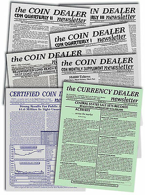 Greysheet Special Offer, 7 current issues covering US Coin and Currency market